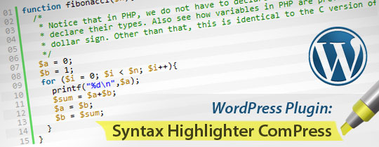 Syntax Highlighter Compress