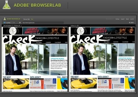 Adobe BrowserLab