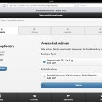 MobileST 2.0: Checkout - iPad optimiert